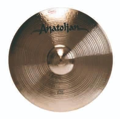 "Anatolian cymbals Expression 12"" Splash"